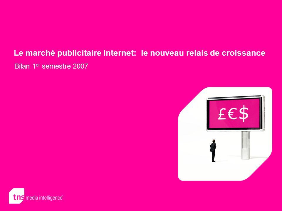 Le marché publicitaire Internet: le nouveau relais de croissance