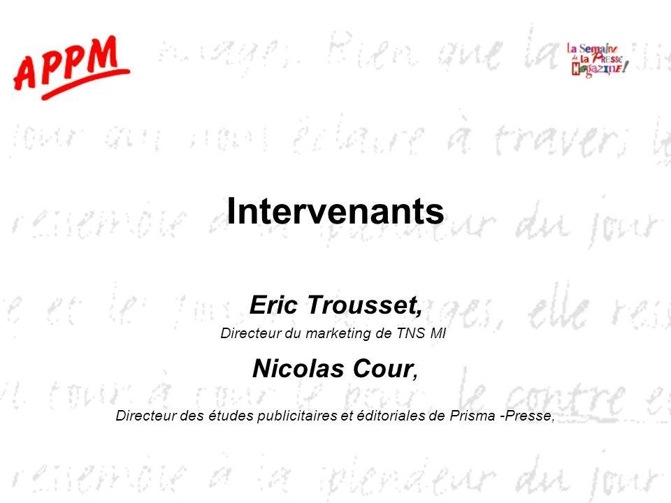 Intervenants Eric Trousset, Nicolas Cour,