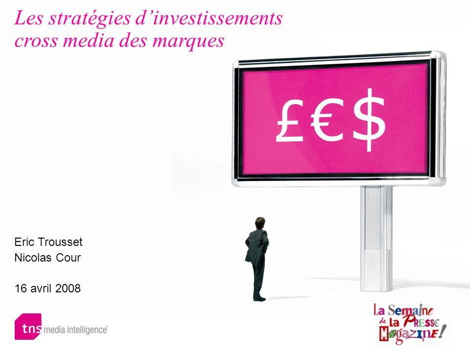Les stratégies d'investissements cross media des marques