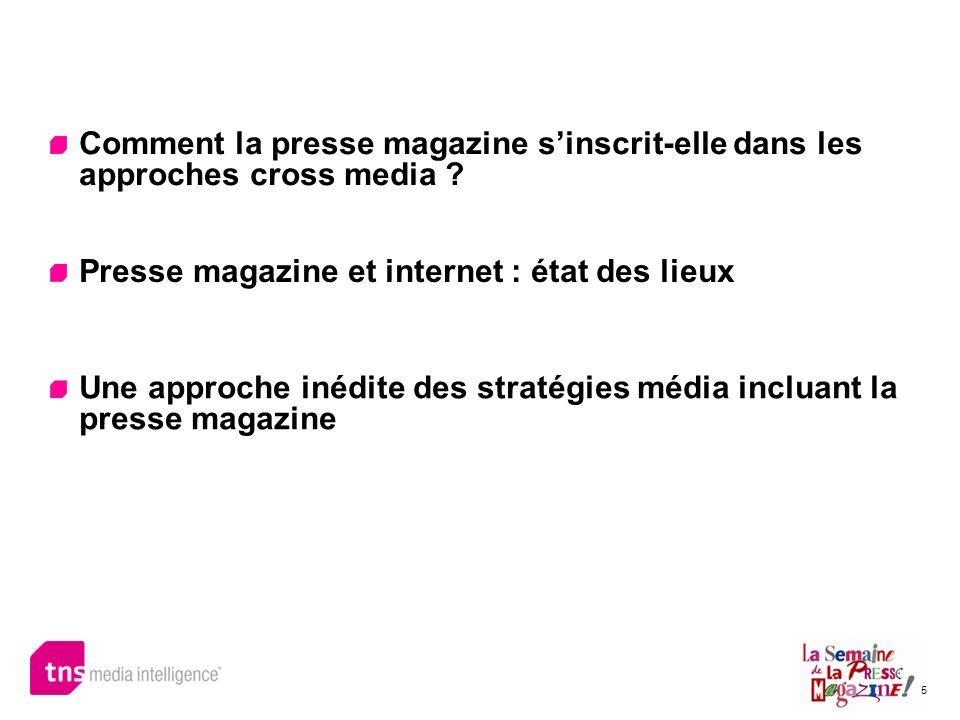 Comment la presse magazine s'inscrit-elle dans les approches cross media