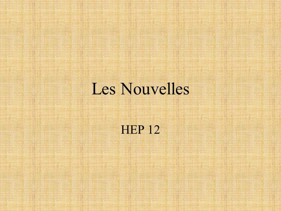 Les Nouvelles HEP 12