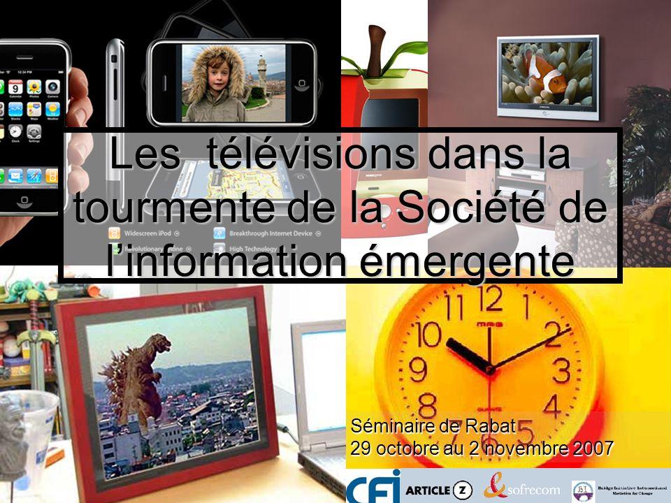 Les télévisions dans la tourmente de la Société de l'information émergente