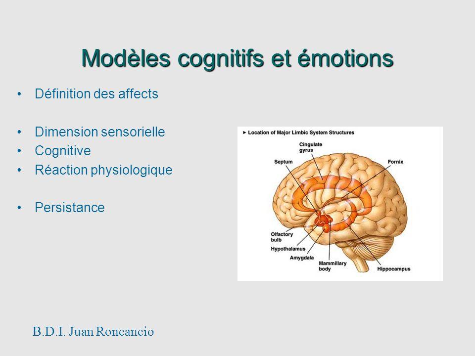 Modèles cognitifs et émotions
