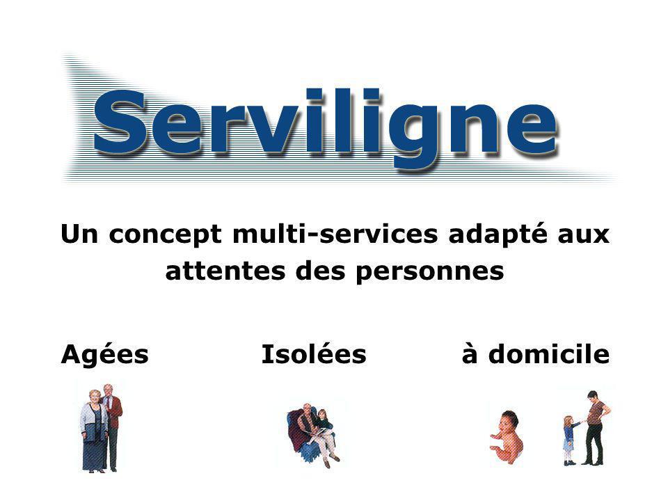 Un concept multi-services adapté aux attentes des personnes