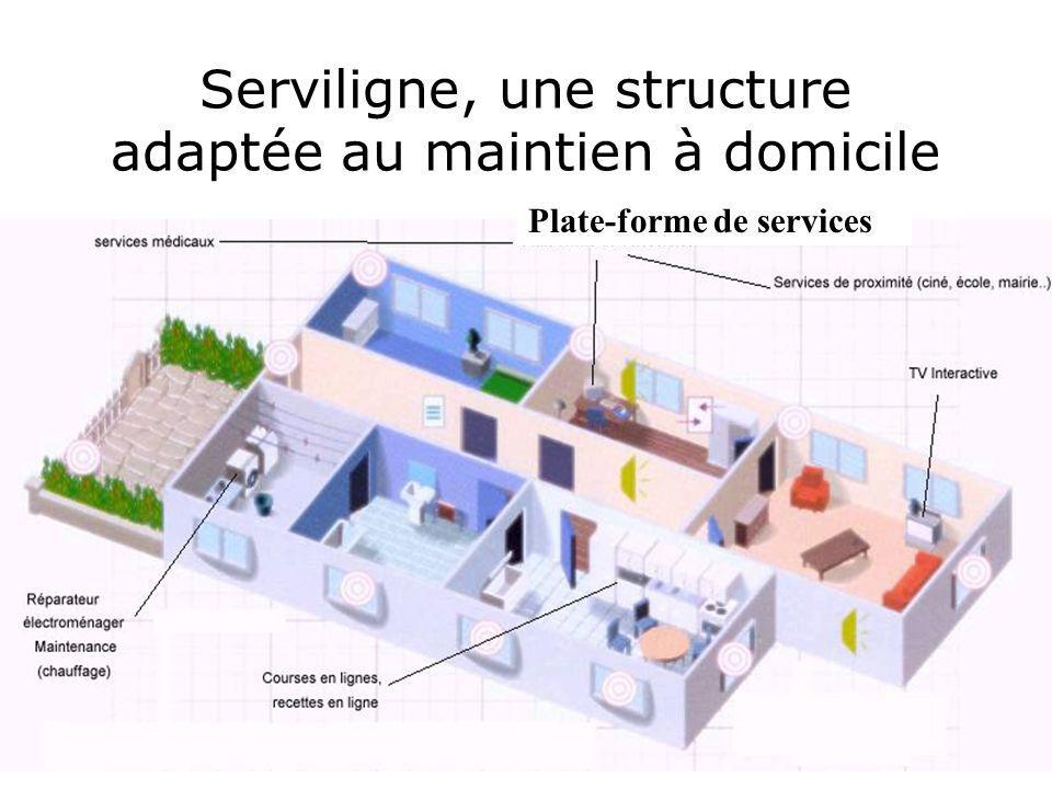 Serviligne, une structure adaptée au maintien à domicile