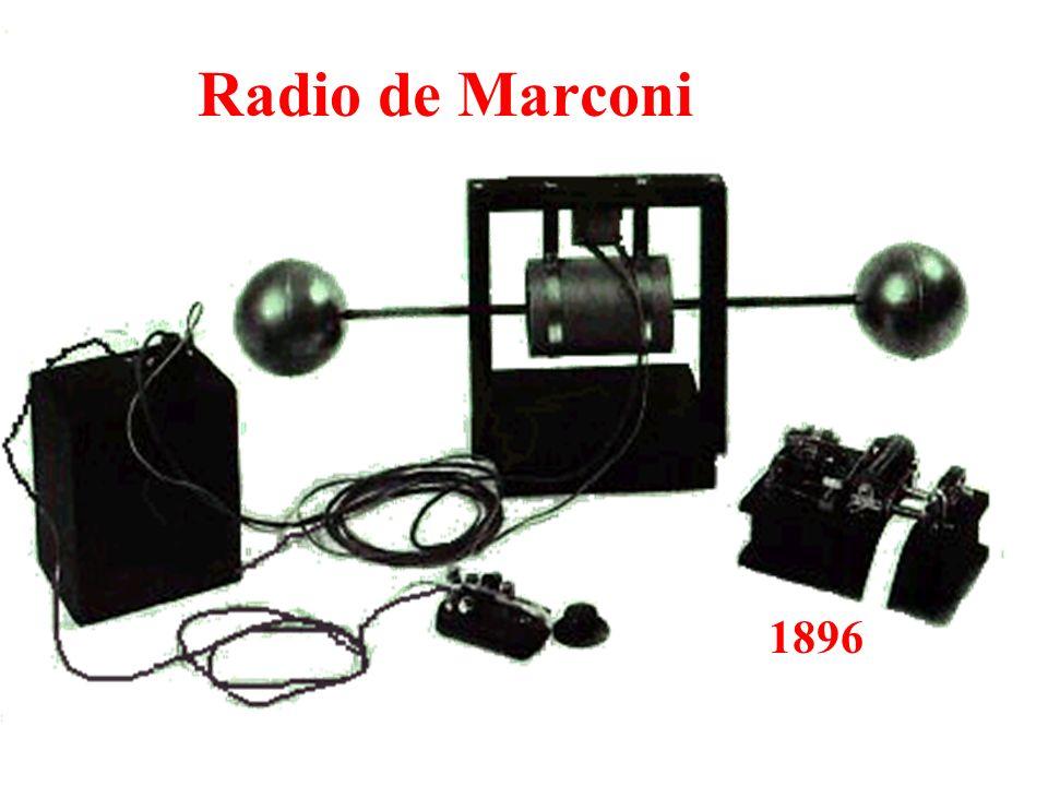 Radio de Marconi 1896