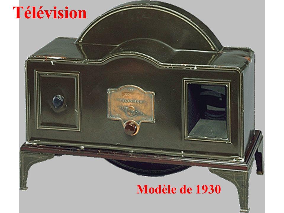 Télévision Modèle de 1930