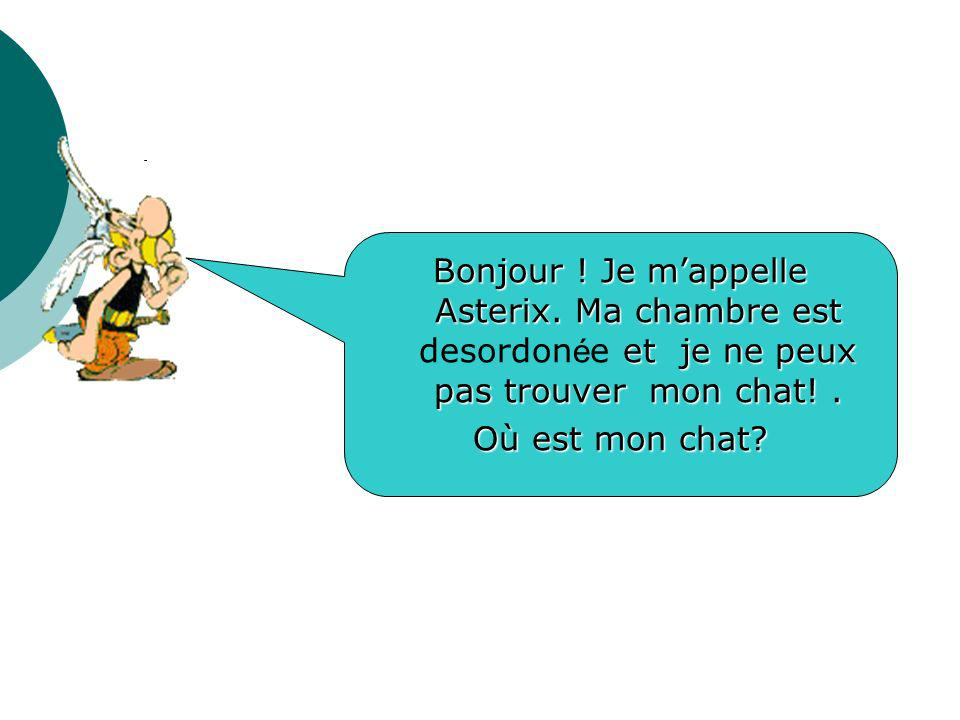 Bonjour. Je m'appelle Asterix