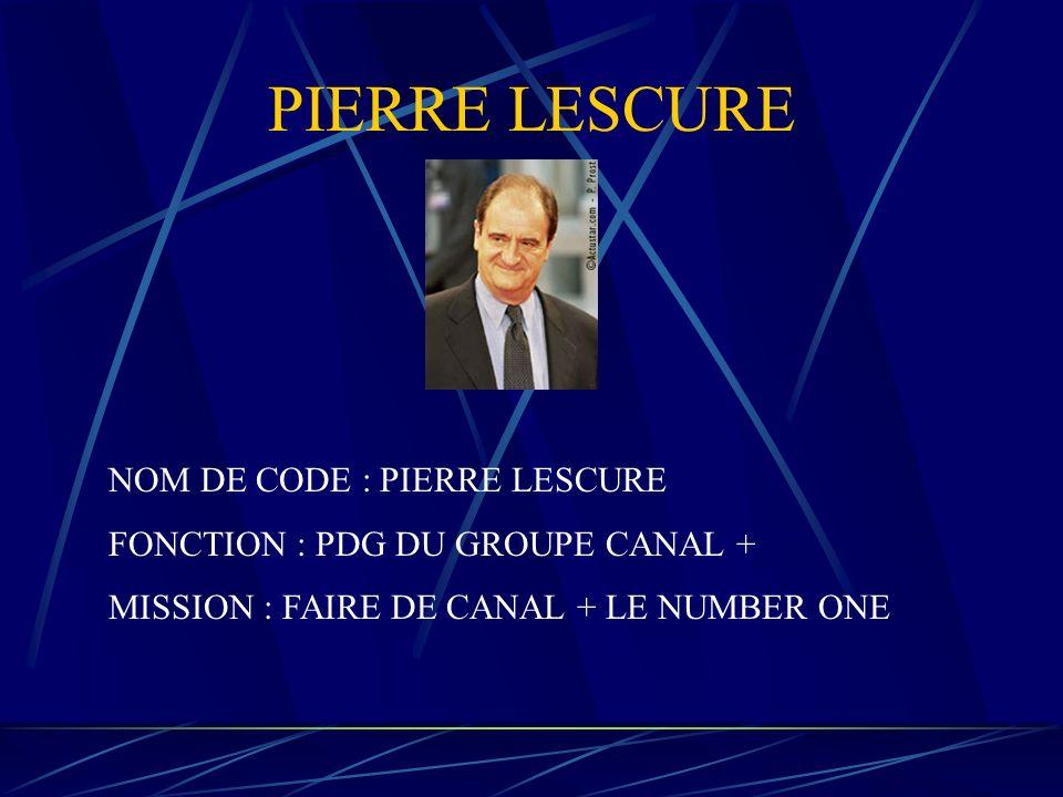 PIERRE LESCURE NOM DE CODE : PIERRE LESCURE