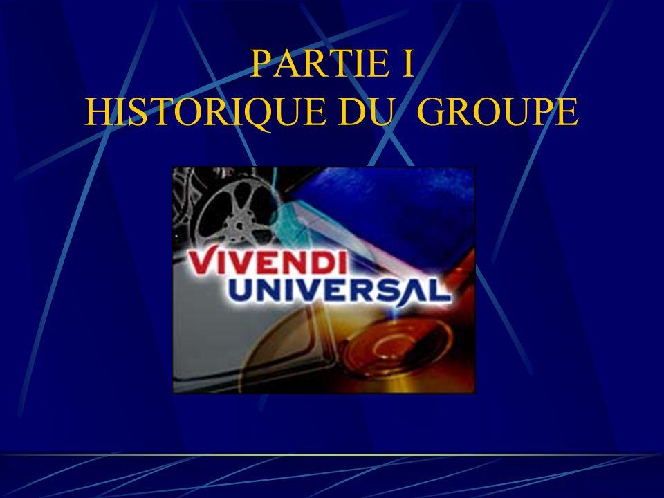 PARTIE I HISTORIQUE DU GROUPE