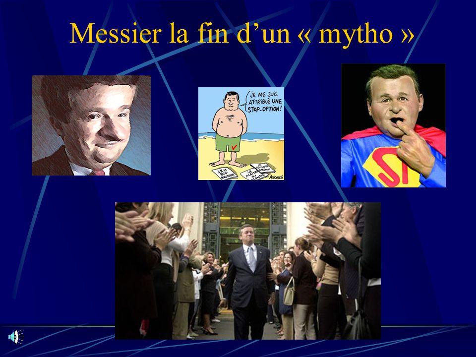 Messier la fin d'un « mytho »