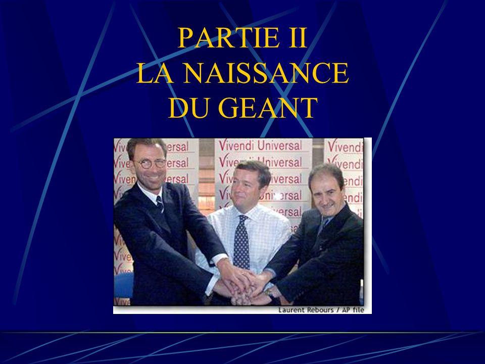 PARTIE II LA NAISSANCE DU GEANT