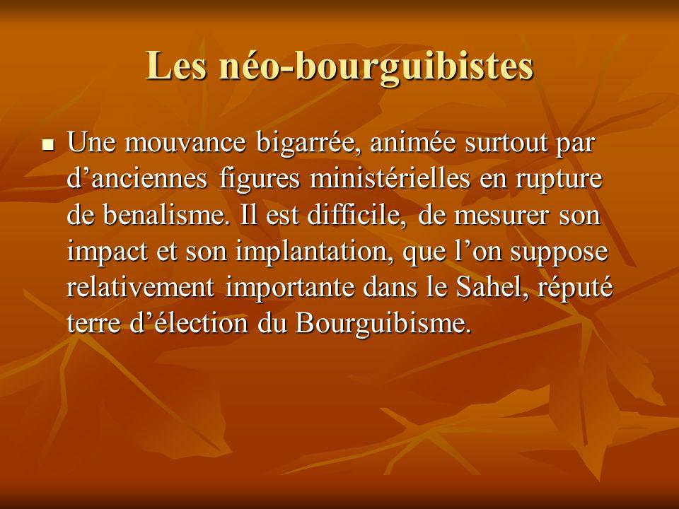 Les néo-bourguibistes