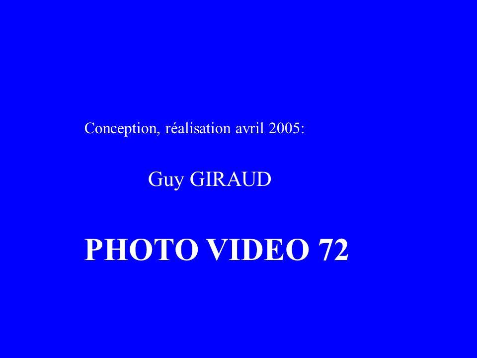 Conception, réalisation avril 2005: