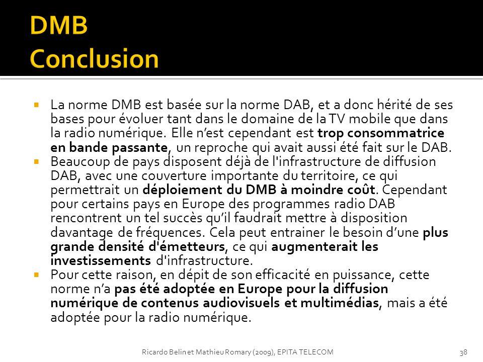 DMB Conclusion