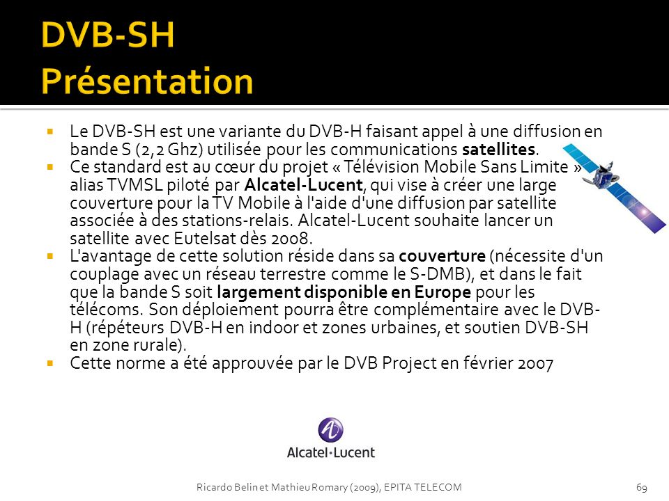DVB-SH Présentation