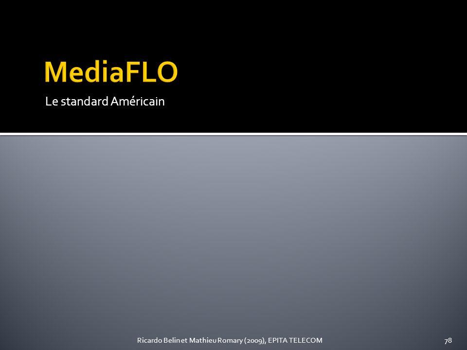 MediaFLO Le standard Américain