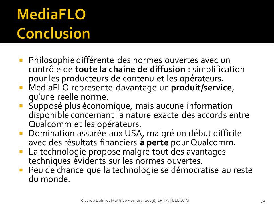 MediaFLO Conclusion
