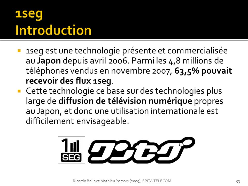 1seg Introduction