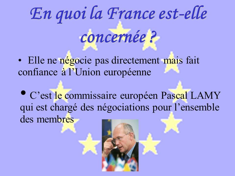 En quoi la France est-elle concernée