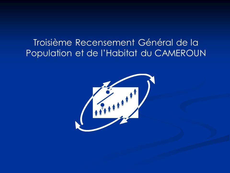 Troisième Recensement Général de la Population et de l'Habitat du CAMEROUN