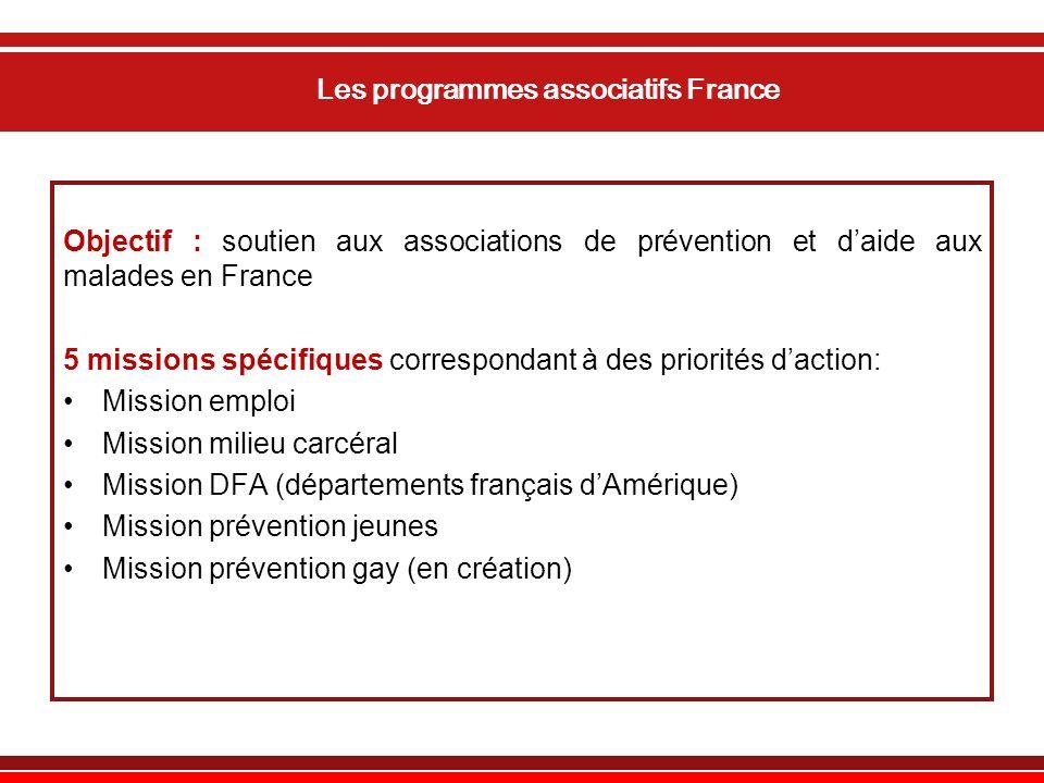 Les programmes associatifs France
