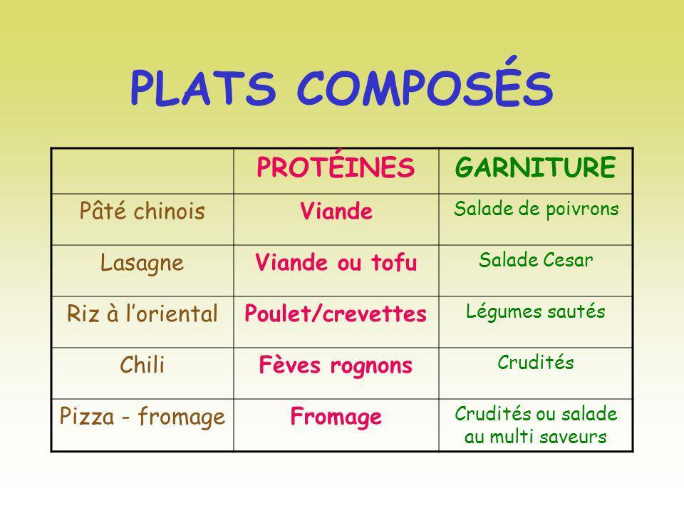 Crudités ou salade au multi saveurs