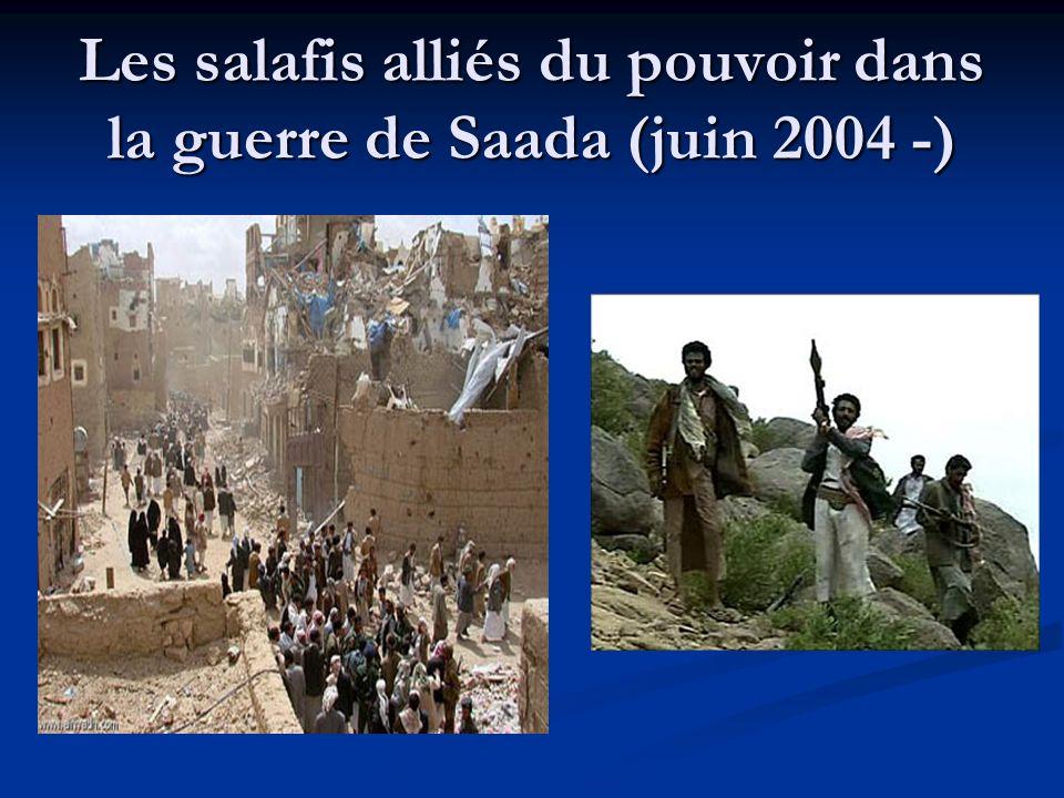 Les salafis alliés du pouvoir dans la guerre de Saada (juin 2004 -)