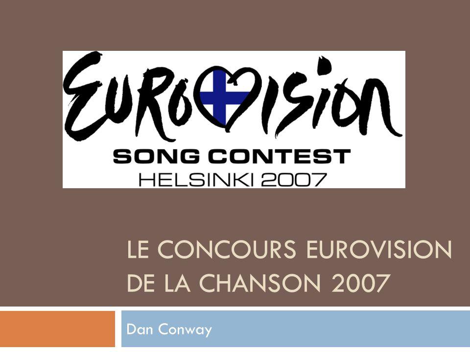 Le concours eurovision de la chanson 2007
