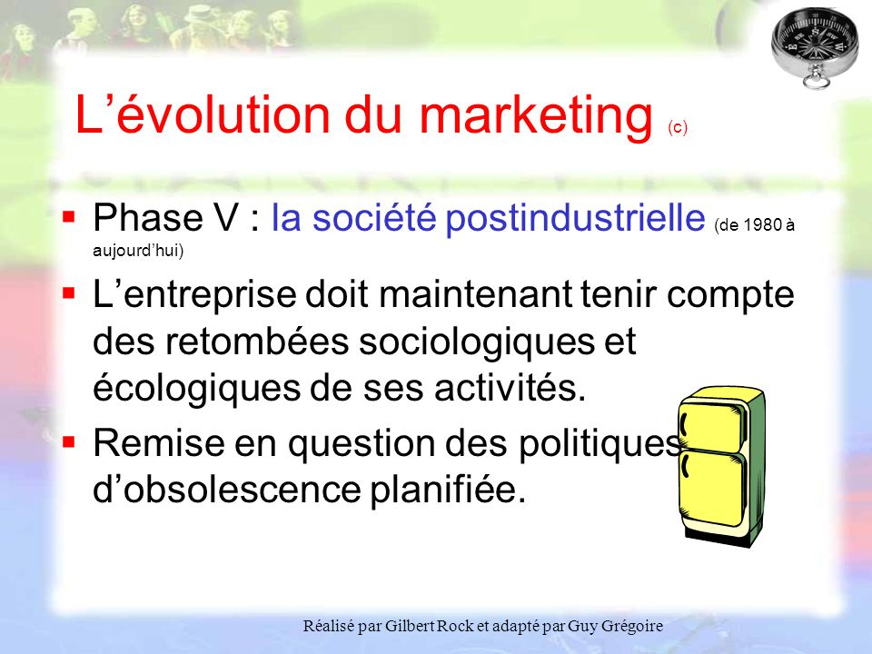 L'évolution du marketing (c)