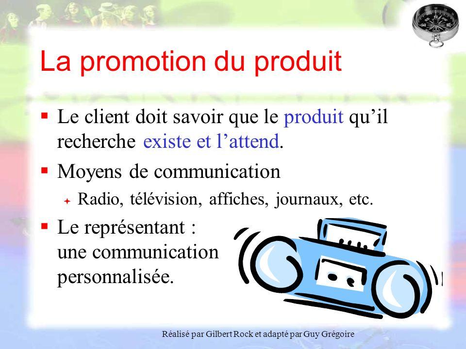 La promotion du produit