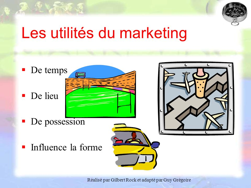 Les utilités du marketing