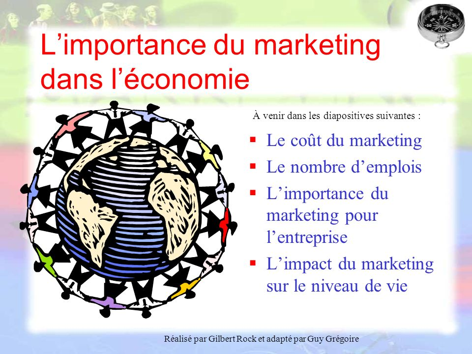 L'importance du marketing dans l'économie