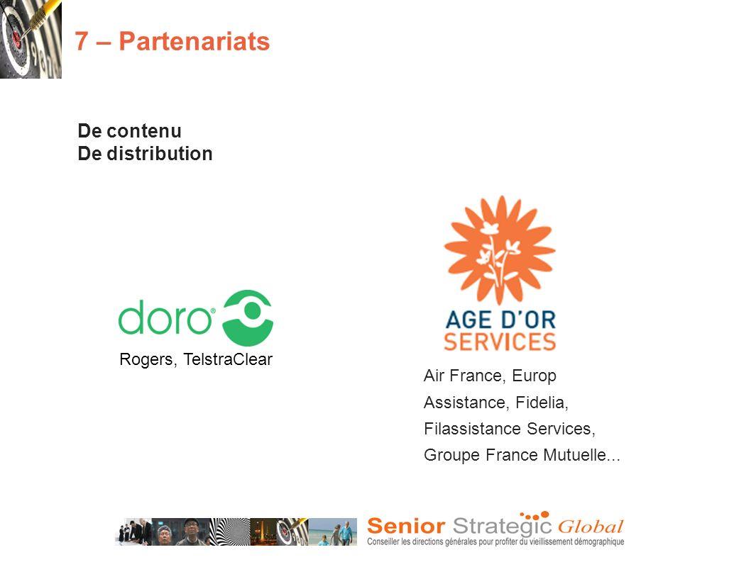 7 – Partenariats De contenu De distribution Rogers, TelstraClear