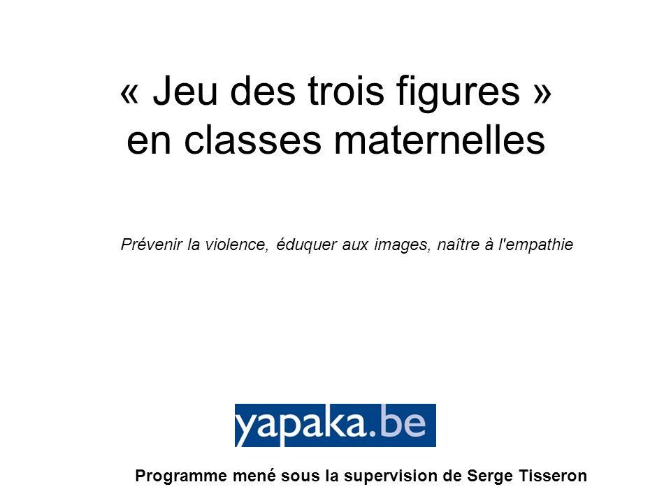 « Jeu des trois figures » en classes maternelles