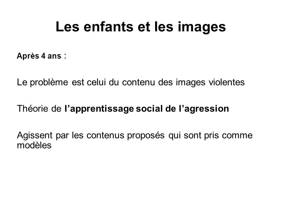 Les enfants et les images