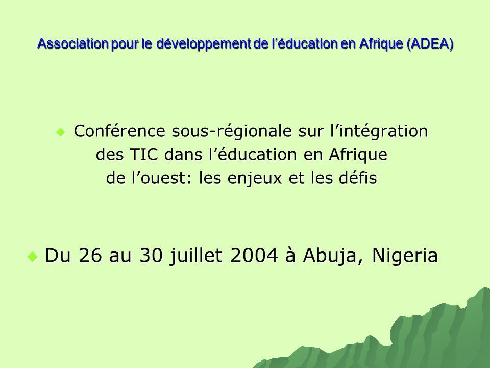 Association pour le développement de l'éducation en Afrique (ADEA)