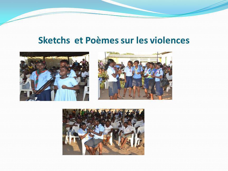 Sketchs et Poèmes sur les violences