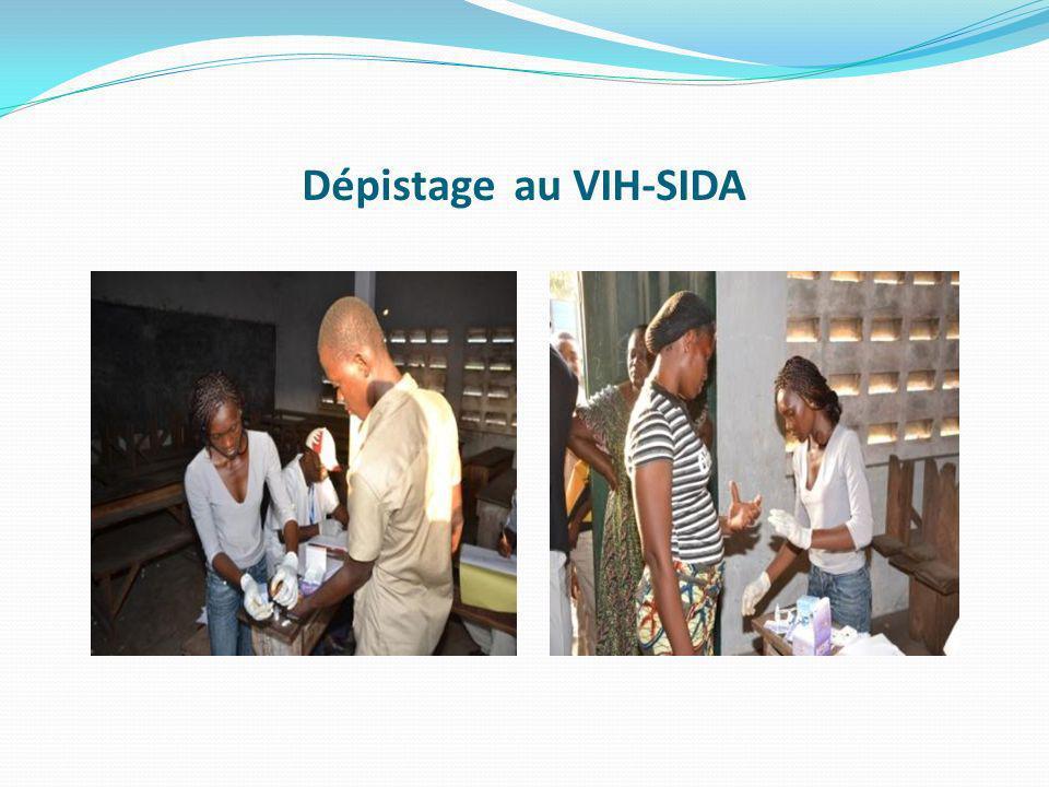 Dépistage au VIH-SIDA