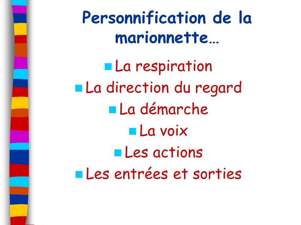 Personnification de la marionnette…