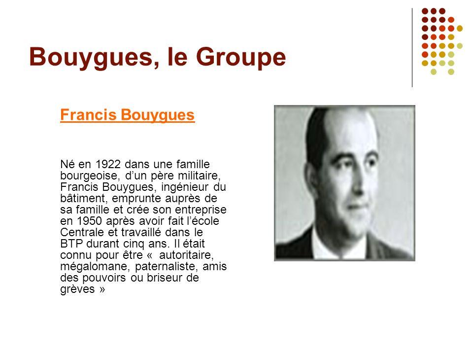 Bouygues, le Groupe Francis Bouygues