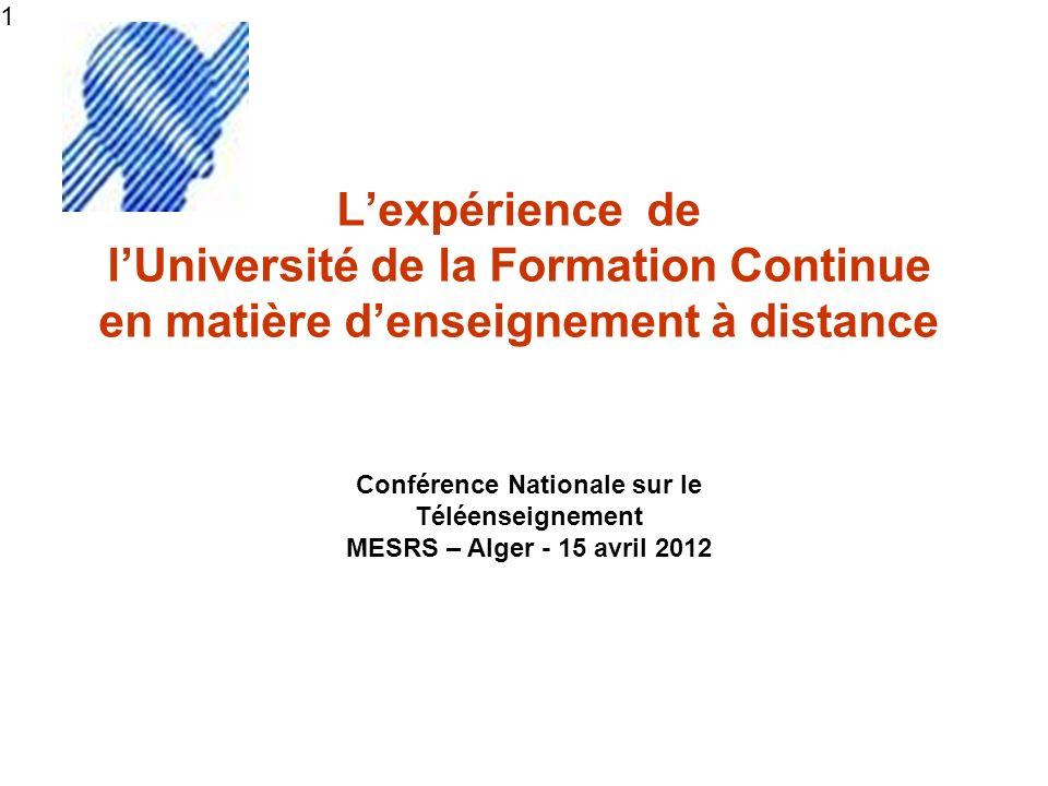 Conférence Nationale sur le Téléenseignement