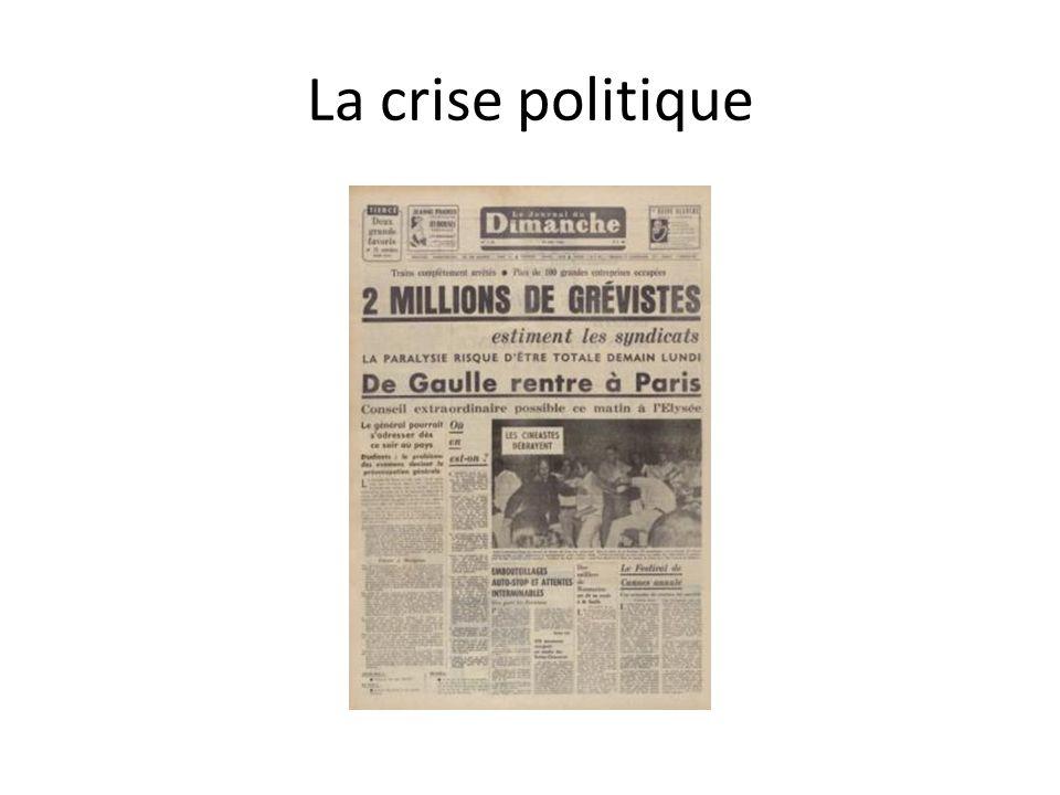 La crise politique