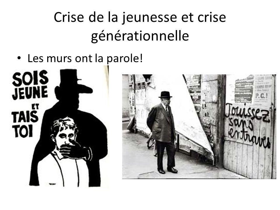 Crise de la jeunesse et crise générationnelle