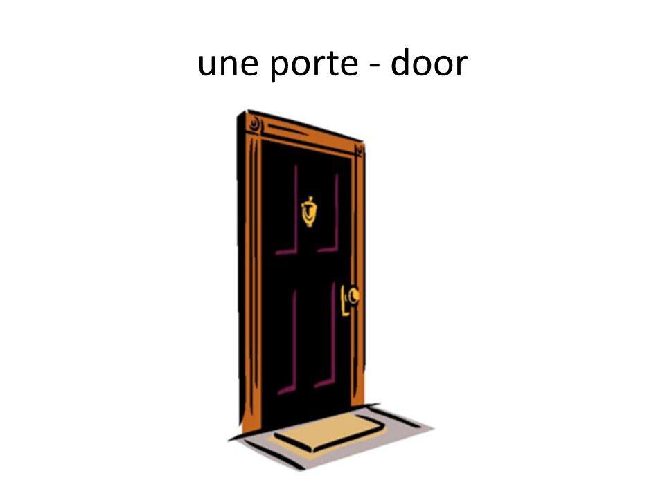une porte - door