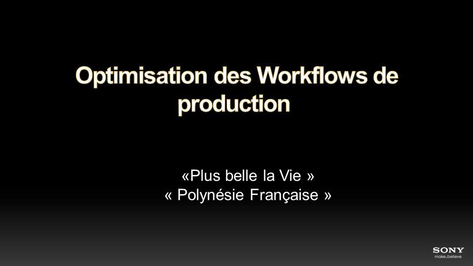 Optimisation des Workflows de production