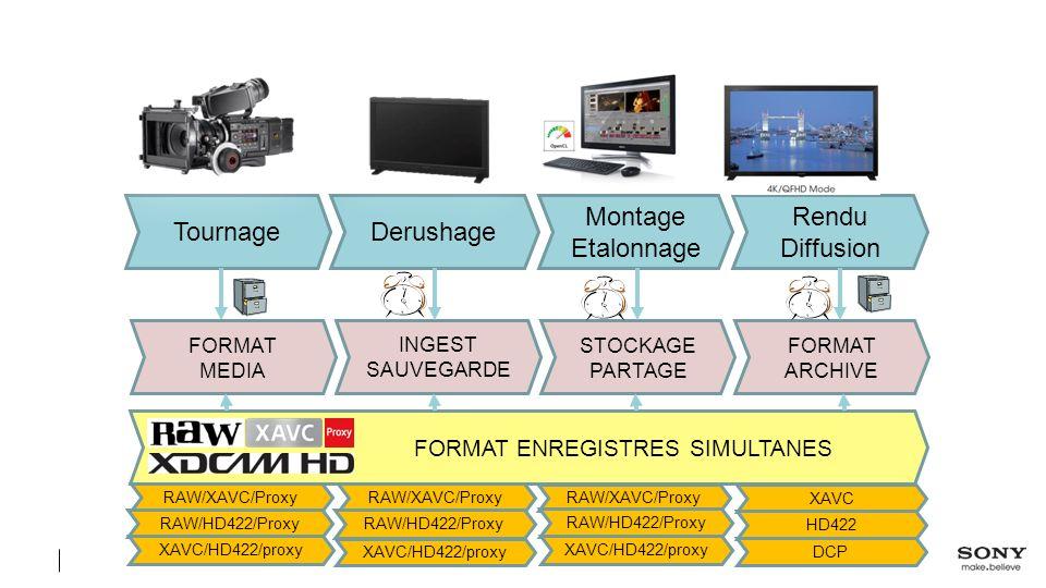 FORMAT ENREGISTRES SIMULTANES