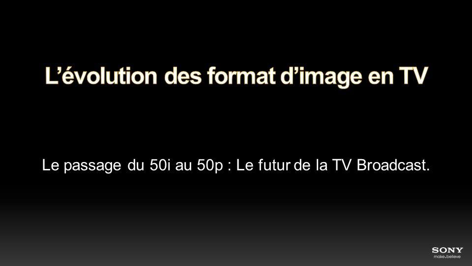 L'évolution des format d'image en TV