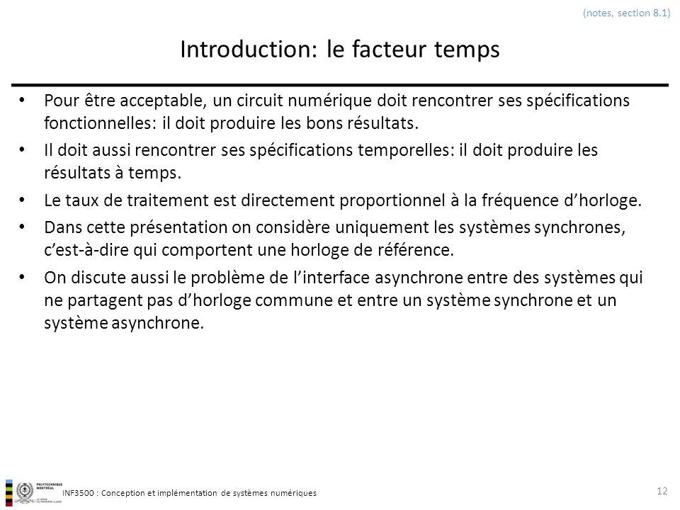 Introduction: le facteur temps