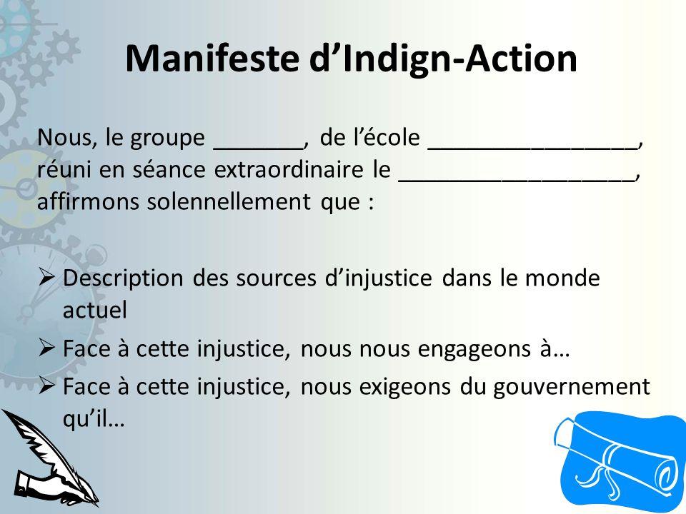 Manifeste d'Indign-Action